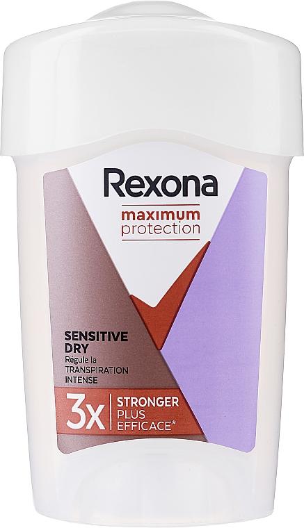 Дезодорант-стик - Rexona Maximum Protection Sensitive Dry