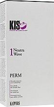 Средство для химической завивки волос, щадящее, для нормальных волос - Kis NeutraWave 1 Perm — фото N1