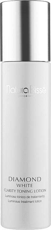 Тонизирующий и осветляющий лосьон - Natura Bisse Diamond White Clarity Toning Lotion