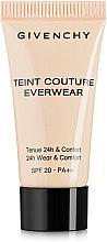 Духи, Парфюмерия, косметика Тональный крем - Givenchy Teint Couture Everwear SPF20 (пробник)