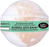 """Бомба для ванн """"Шоколадно-мятный брауни"""" - Aqua Cosmetics Dolce Vero"""