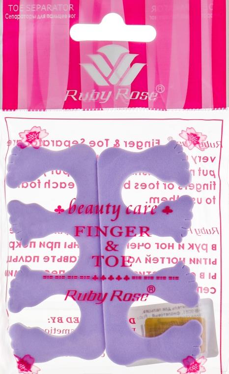 Разделитель для пальцев, НВ-9081, фиолетовый - Ruby Rose