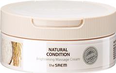 Духи, Парфюмерия, косметика Крем массажный для яркости кожи - The Saem Natural Condition Brightening Massage Cream