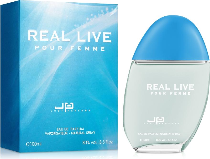 Just Parfums Real live - Парфюмированная вода