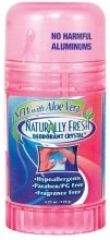 "Духи, Парфюмерия, косметика Дезодорант-стик для женщин ""Без запаха"" - Naturally Fresh Deodorant Crystal Peach Twist-up Stick Aloe Vera"