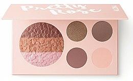 Духи, Парфюмерия, косметика Палетка для макияжа - Alcina Pretty Rose Blush & Eye Shadow Palette