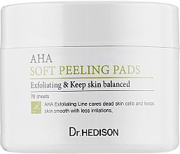Духи, Парфюмерия, косметика Ватные диски с AHA-кислотами - Dr.Hedison AHA Soft Peeling Pads