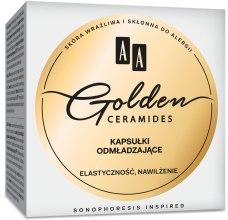 Духи, Парфюмерия, косметика Капсулы молодости - AA Cosmetics Golden Ceramides Beauty Pearls
