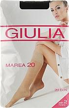 "Духи, Парфюмерия, косметика Гольфы для женщин ""Marea Gambaletto"" 20 Den, nero - Giulia"