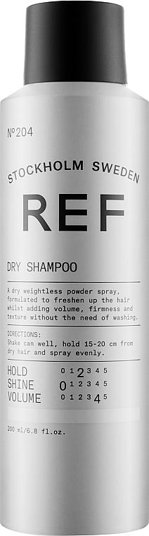 Сухой шампунь для светлых волос - REF Dry Shampoo