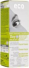 Духи, Парфюмерия, косметика Дневной крем для лица SPF 15 с оттенком загара - Eco Cosmetics Facial Cream SPF 15 Toned