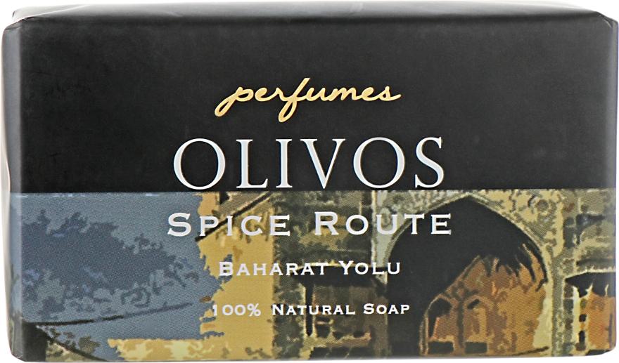"Натуральное оливковое мыло ""Светский раут"" - Olivos Perfumes Spice Route Soap"