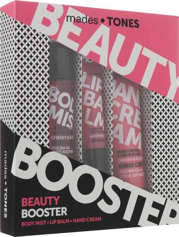 "Набор ""Дерзкий-Кокетливый"" - Mades Cosmetics Cheeky&Flirty (b/mist/50ml + lip/balm/15ml + h/cr/65ml)"