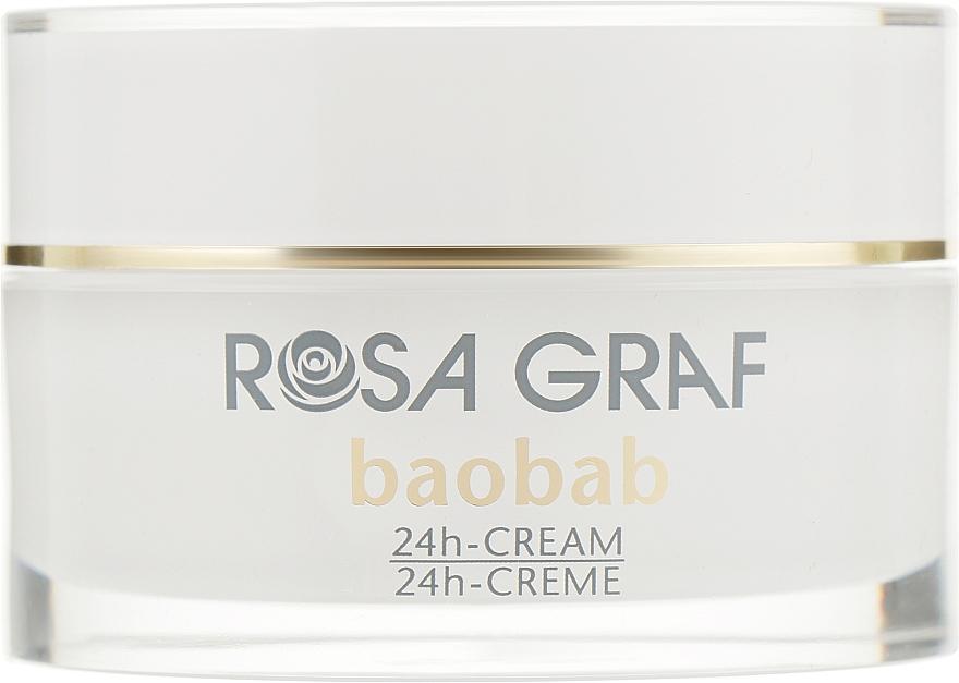 Омолаживающий крем с экстрактом баобаба и Q10 - Rosa Graf Baobab 24h Cream