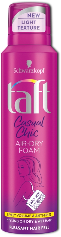 Пенка-мусс для волос - Taft Casual Chic Lightweight Hairspray