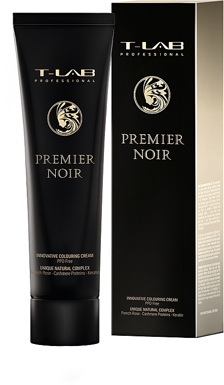 Крем-краска для волос - T-LAB Professional Premier Noir Innovative Colouring Cream