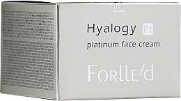 Духи, Парфюмерия, косметика Платиновый крем для лица - ForLLe'd Hyalogy Platinum Face Cream