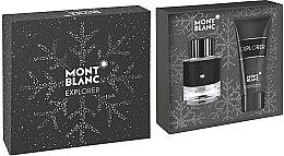 Духи, Парфюмерия, косметика Montblanc Explorer - Набор (edp/60ml + sh/gel/100ml)