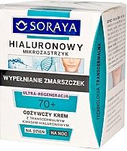 Духи, Парфюмерия, косметика Питательный крем на день/ночь - Soraya Hialuronowy Mikrozastrzyk Nourishing Cream 70+