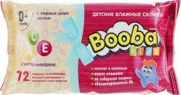 Духи, Парфюмерия, косметика Детские влажные салфетки с первых дней жизни - Booba Kids