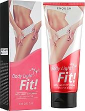 Духи, Парфюмерия, косметика Антицеллюлитный крем для тела - Enough Body Lite Fit Cream
