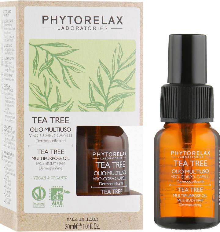 Масло для тела и волос - Phytorelax Laboratories Tea Tree Multiporpose Oil