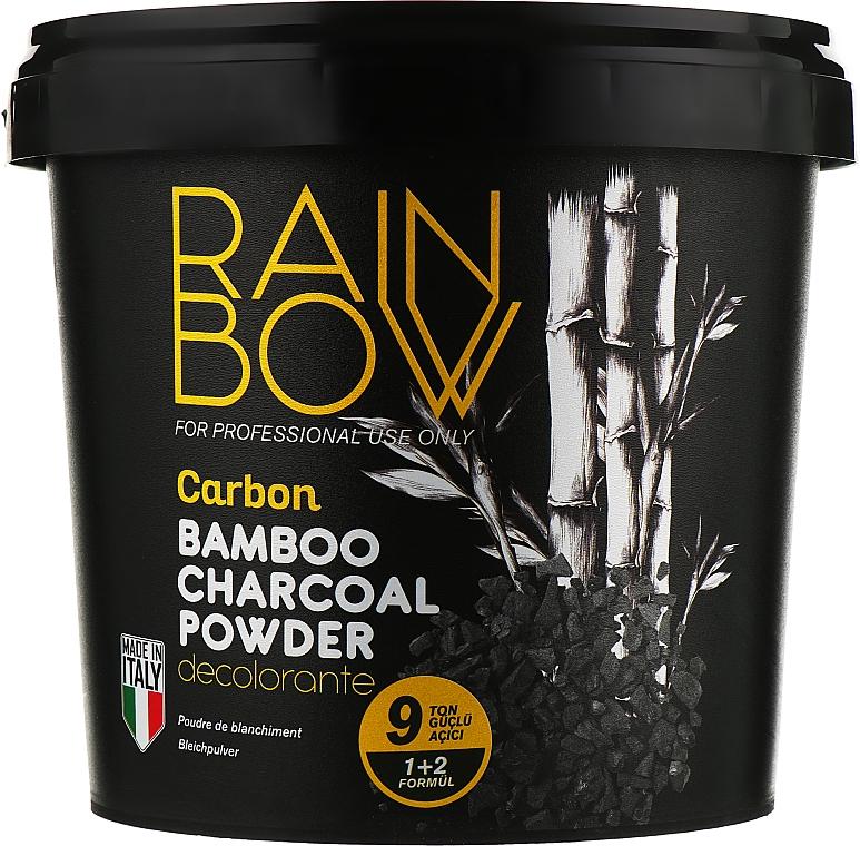 Обесцвечивающий угольно-бамбуковый порошок для осветления волос - Rainbow Professional Carbon Bamboo Charcoal Powder