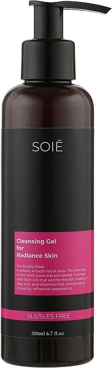 Деликатный гель для лица с ниацинамидом- Soie For Dry Skin Gel