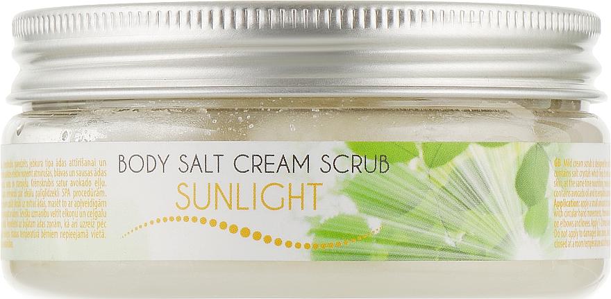 """Скраб для тела солевой """"Солнечный свет"""" - Ceano Cosmetics Body Salt Scrub Sunlight"""