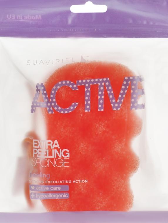 Мочалка-пилинг - Suavipiel Active Esponja Extra Peeling