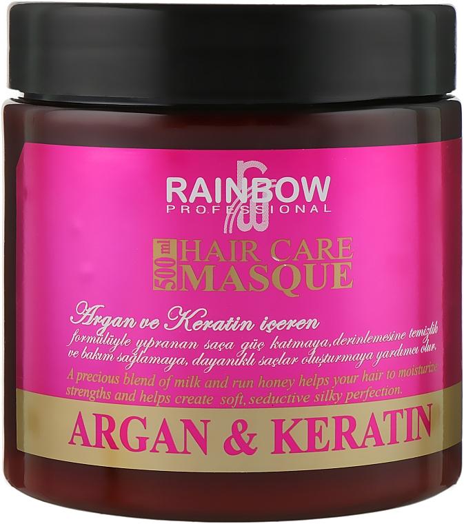 """Маска для волос """"Аргания и кератин"""" - Rainbow Professional Hair Care Masque"""