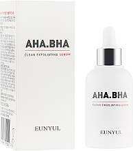 Духи, Парфюмерия, косметика Сыворотка для обновления кожи лица с кислотами - Eunyul AHA BHA Clean Exfoliating Serum