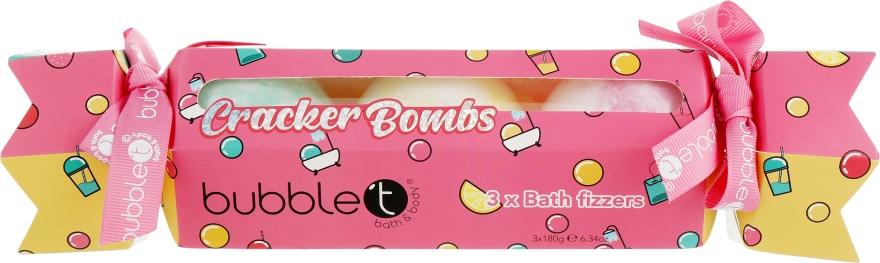 Набор бомбочек для ванны - Bubble T Crack Open The Fizz (bath/bomb/3x180g)