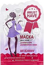 """Духи, Парфюмерия, косметика Маска для лица """"Длительное увлажнение кожи лифтинг-эффект"""" - BelKosmex Must Have Lifting Mask"""