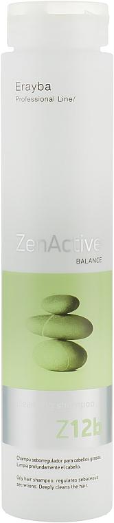 Шампунь для жирных волос - Erayba Z12b Cleansing Shampoo