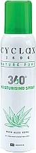 Духи, Парфюмерия, косметика Спрей для тела с алоэ вера - Cyclax Nature Pure 360 Degree All Over Body Hydrating Spray With Aloe Vera