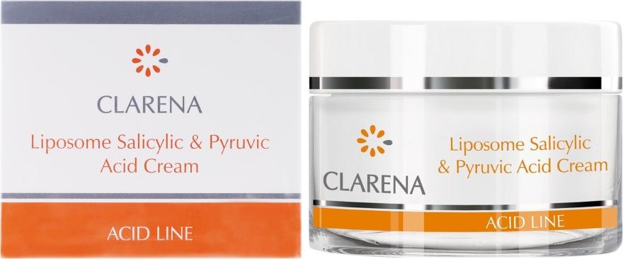 Крем с салициловой и пировиноградной кислотами - Clarena Liposome Pyruvic Acid Salicylic & Cream