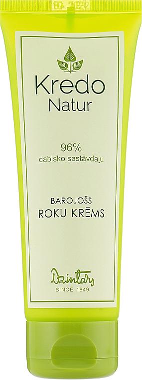 Крем для рук питательный - Dzintars Kredo Natur Hand Cream