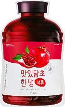 """Духи, Парфюмерия, косметика Тканевая маска """"Гранат"""" - A'pieu Fruit Vinegar Sheet Mask Pomegranate"""