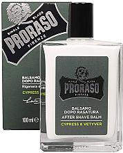 Духи, Парфюмерия, косметика Бальзам после бритья - Proraso Cypress & Vetyver After Shave Balm