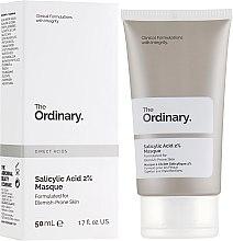 Духи, Парфюмерия, косметика Маска для лица с салициловой кислотой - The Ordinary Salicylic Acid 2% Masque