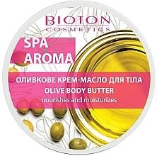 Духи, Парфюмерия, косметика Оливковое крем-масло для тела - Bioton Cosmetics Spa Aroma