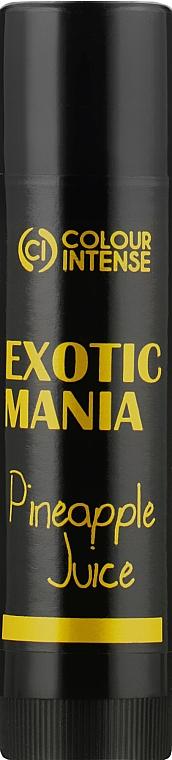 "Бальзам для губ ""Exotic Mania"" с ароматом ананаса - Colour Intense Lip Balm"