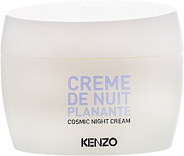 Духи, Парфюмерия, косметика Ночной крем для лица - KenzoKi White Lotus Creme De Nuit Planante (тестер)