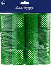 Духи, Парфюмерия, косметика Металлические бигуди зеленые, 50 мм - Comair