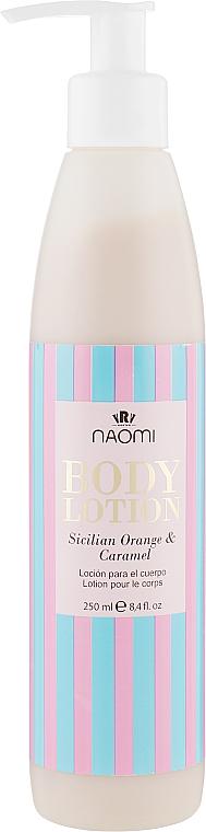 """Лосьон для тела """"Сицилийский апельсин-карамель"""" - Naomi Body Lotion Sicilian Orange And Caramel"""