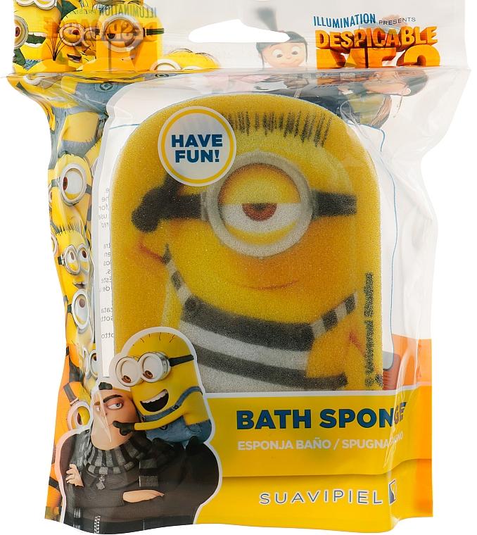 "Мочалка банная детская ""Миньйоны"", Carl - Suavipiel Minnioins Bath Sponge"