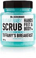 "Духи, Парфюмерия, косметика Сахарный скраб для тела ""Tiffany's Breakfast"" - Mr.Scrubber Shugar Baby Hands Feet & Body Scrub"