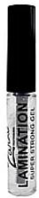 Парфумерія, косметика Гель для брів сильної фіксації з ефектом ламінування - Zario Professional Lamination Super Strong Gel