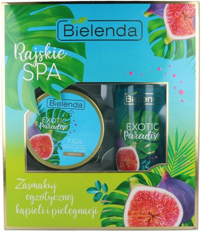 Набор - Bielenda Exotic Paradise Figa (scrub/350g + butter/400ml) — фото N1